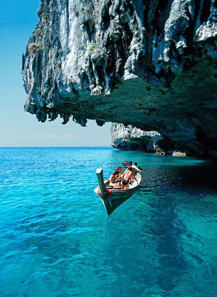 Koh Phi Phi Don (Tailandia): aguas como espejos