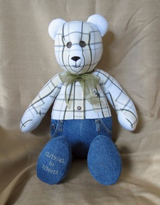 The Bears - Memory Bears | Bears Made From Loved Ones Clothing | Holding Memories
