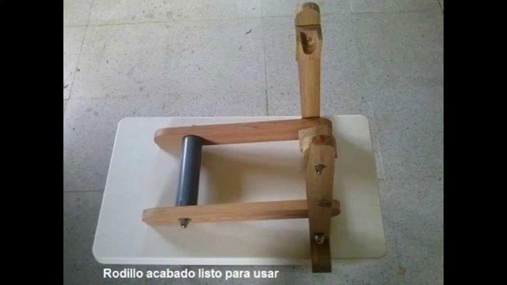 Como hacer un rodillo de madera casero para bicicleta 1ª parte