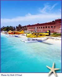 Dry Tortugas National Park - daily boat and seaplane trips plus fishing excursions overnight to Dry Tortugas off Key West!