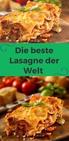 Lasagne Bolognese – Hier ist das beste Rezept der Welt   – Mein Hobby