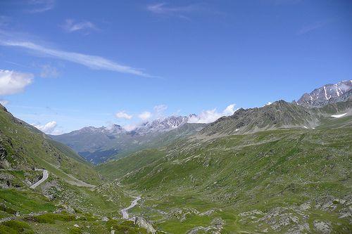 Grand Saint Bernard pass (swiss side)