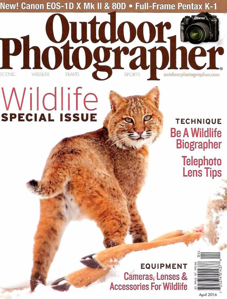 Outdoor Photography Magazine April 2016 Wildlife Special Issue, Be A Biographer