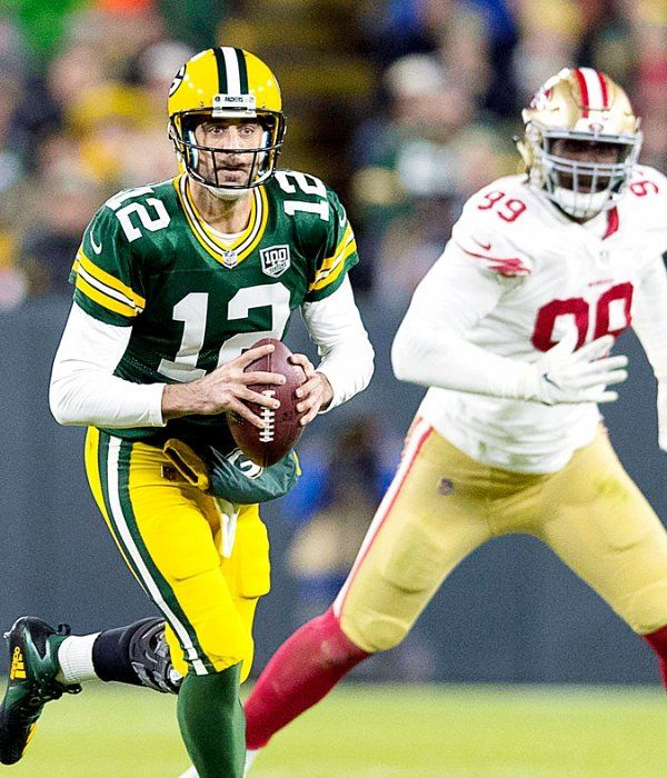 Recap 49ers Lose Heartbreaker To Packers Fall 33 30 To Aaron Rodgers Mason Crosby Aaron Rodgers Packers Football Helmets