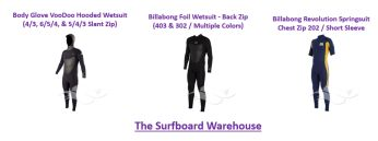 Wetsuits are one of the mandatory parts of your surfing gear and accessories. In cold climate, wetsuits are compulsory. Find there on the surf market two varieties of wetsuits, namely full suits and spring suits. Under 60 degree Fahrenheit or even lower, thick wetsuits are used. Thickness varies as temperature varies. Booties and hoods are also worn along when there is colder temp. Make sure to check wetsuits before you purchase them.