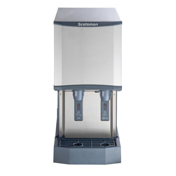 Scotsman Hid312a 1 Meridian Countertop Air Cooled Ice Machine And Water Dispenser 12 Lb Bin Storage Water Dispenser Countertop Water Dispenser Storage Bins