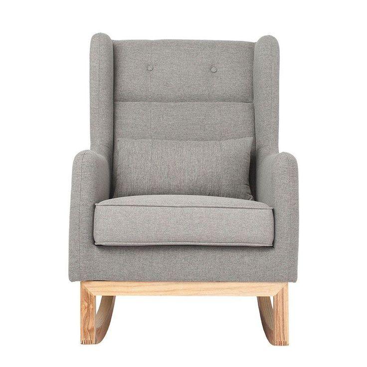 Park Art|My WordPress Blog_Grey Rocking Chair For Nursery
