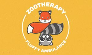 Take a look at this awesome logo 'Zootherapy' by http://logosauce.com/