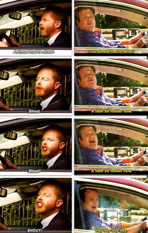 Probably one of my favorite scenes from a Modern Family Episode ever..... @Christine Ballisty Marshall