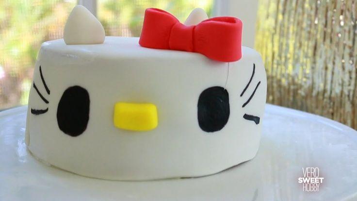 how to make hello kitty cake
