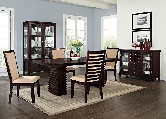American Signature Furniture  Paragon Dining Room Collection Custom City Furniture Dining Room Design Inspiration