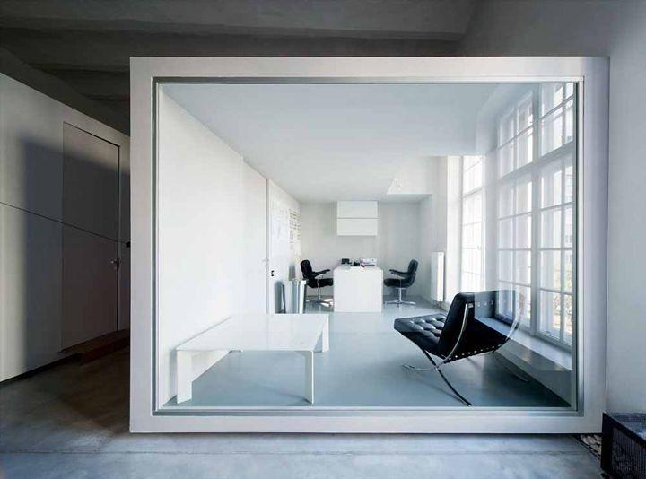 Goldberger loft office by Tervhivatal, Budapest – Hungary