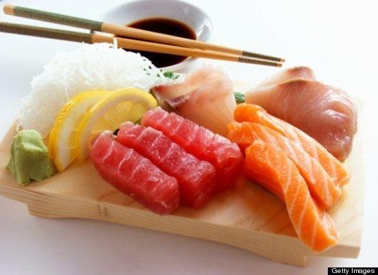 Fresh sashimi :)