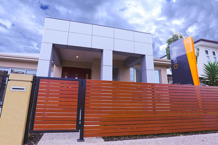 This modern and elegant facade will stand out on any street. #frontage #facade #weeksbuilding