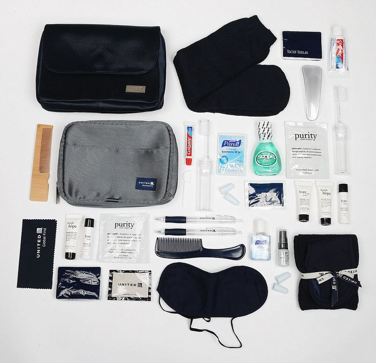 Inside The First Class Vanity Bags That Reveal How The Other Half
