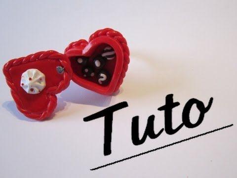 Tuto Fimo - La boîte de chocolat - YouTube