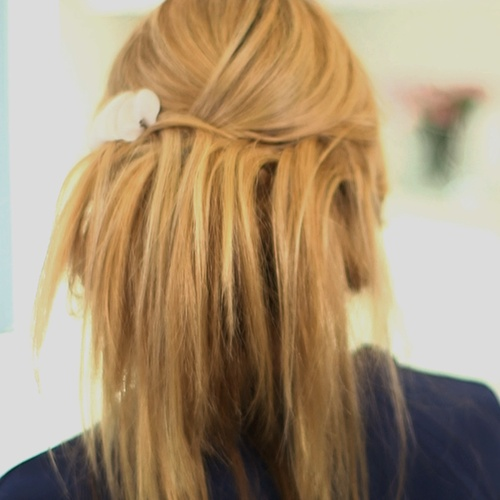 A Romantic Updo to Wear to All Your Fall Formals