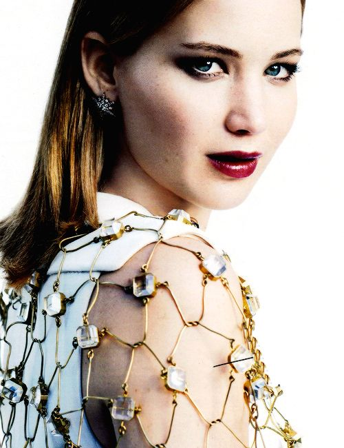Jen for one of her newer photoshoots.