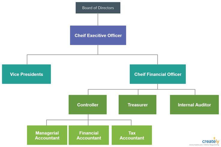 Finance Department Structure Organization Chart Finance Org Chart
