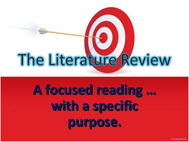 9 best Literature Review images on Pinterest Literature - literature review
