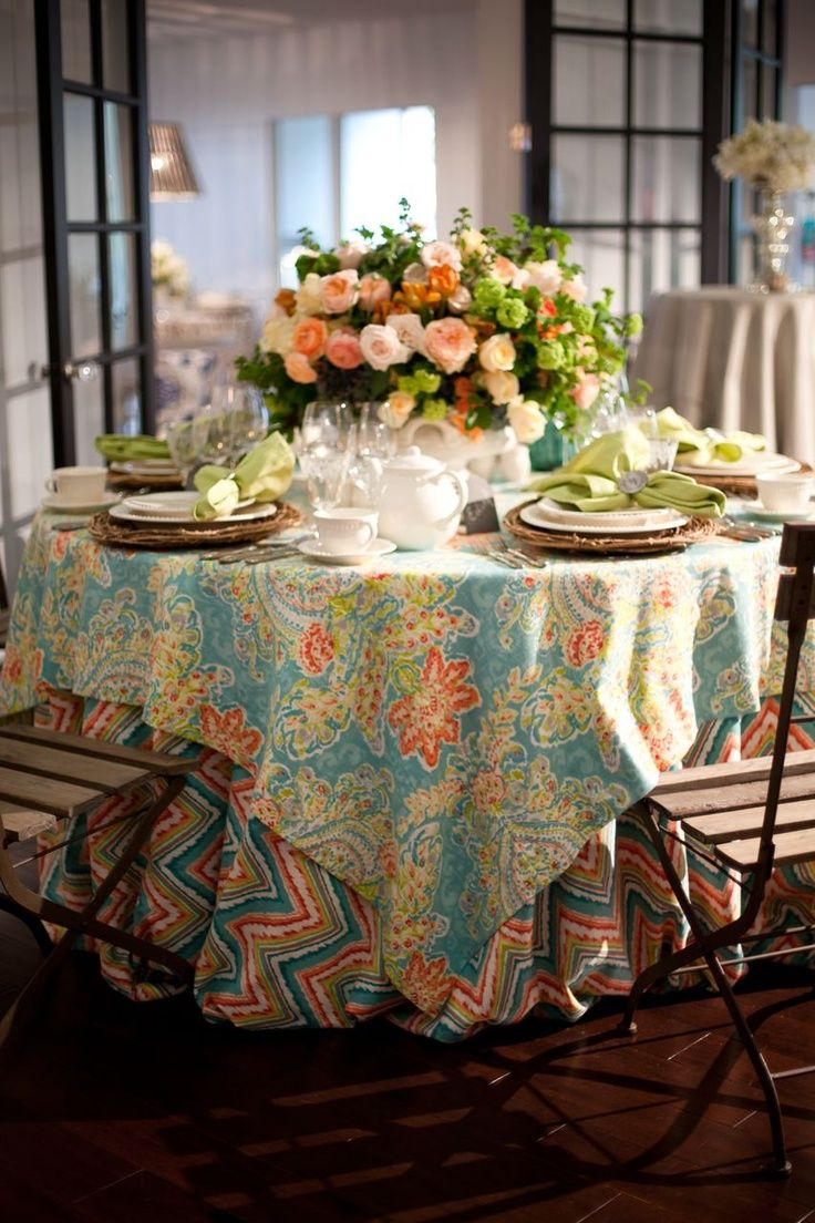 The most beautiful examples of the table decor.