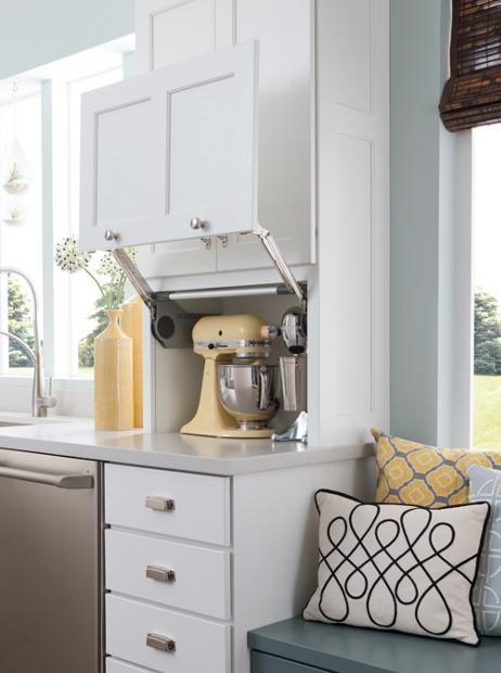 Shown In Alcott Maple White Icing Kitchen Design Menards