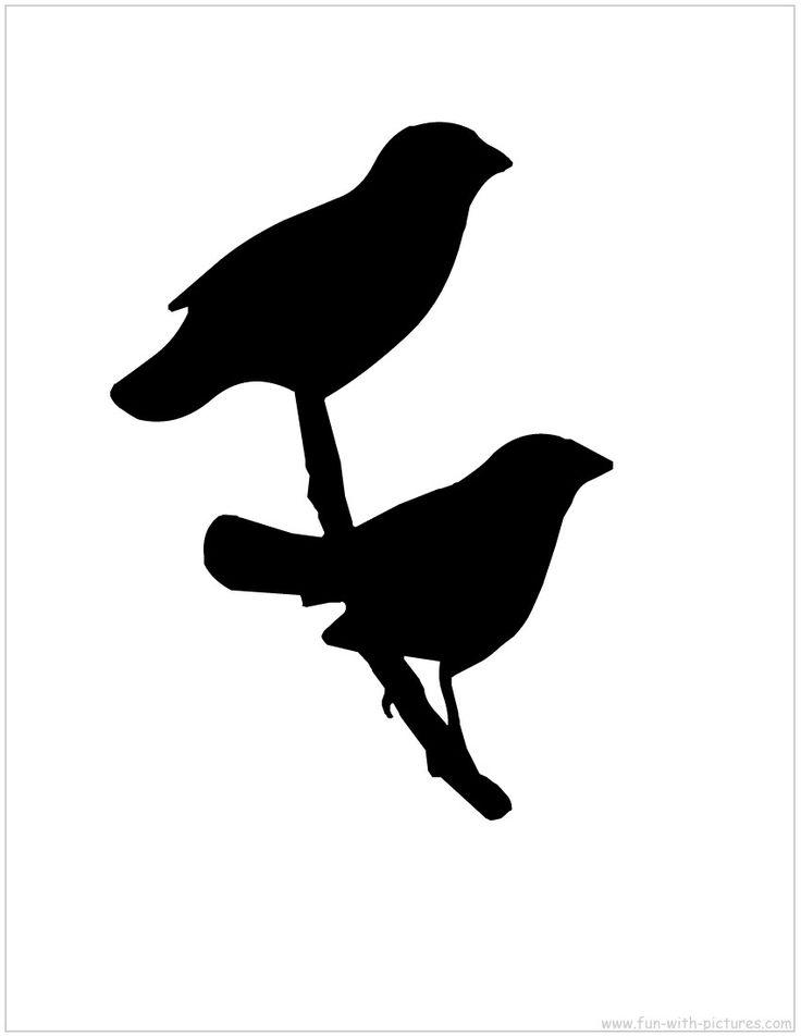 Bird Silhouette printable