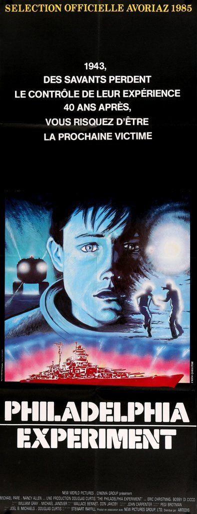 The Philadelphia Experiment (1984) Original French Movie Poster