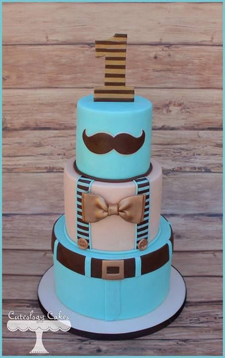 Little man cake by Cuteology Cakes