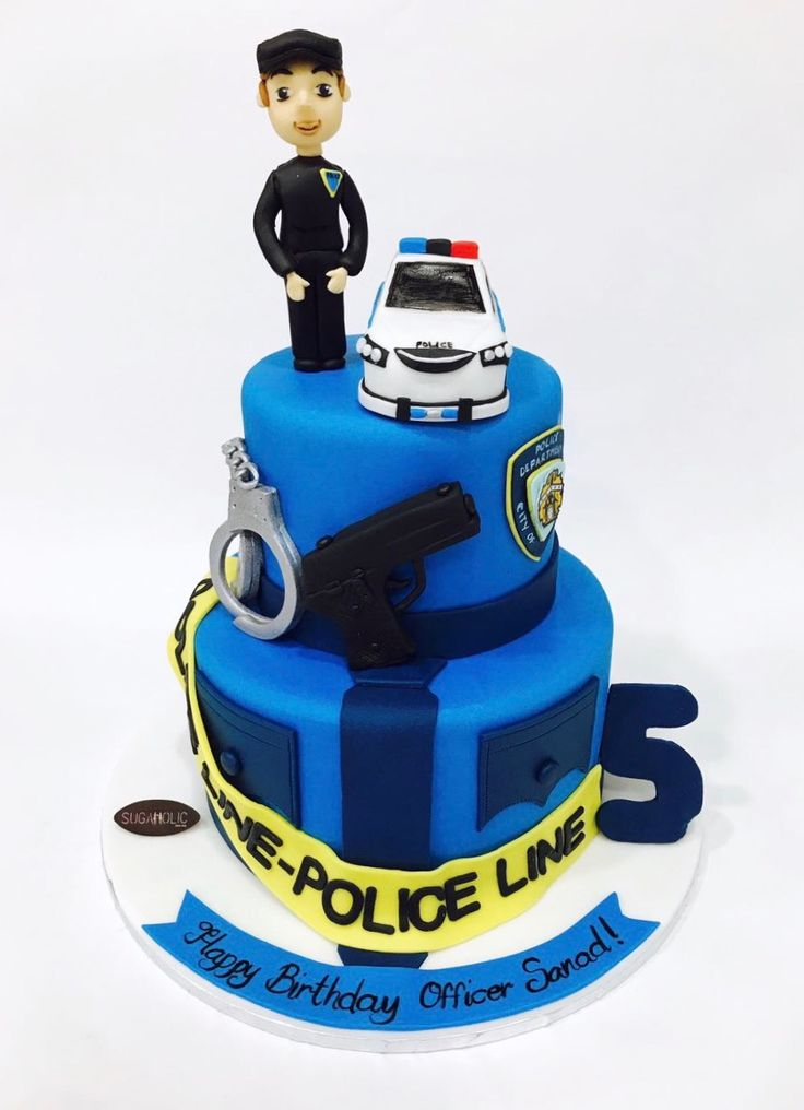 Best 25 Police Cakes Ideas On Pinterest Police Party