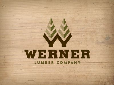 Werner Lumber Company, by Jerron Ames | Branding and Logos