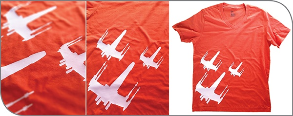Frontlines: X-Wing Shirts