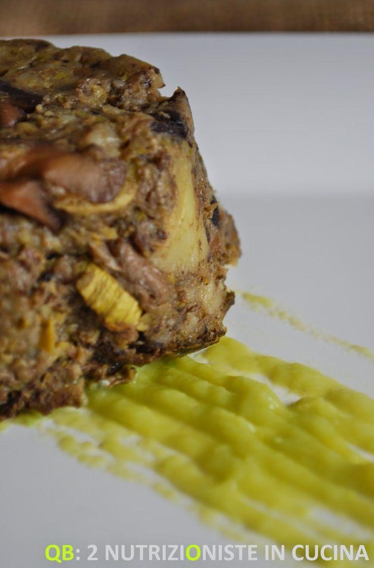 Q B Le ricette light: Sformatini di funghi, patate e zucchine