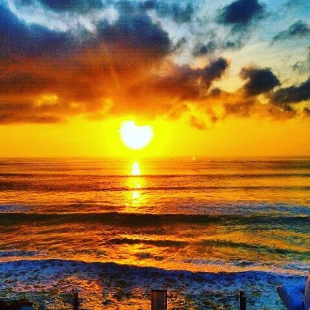 Sunset in Paradise! #RealBali -   Pic via @reiklesbalaati -   Follow and Tag us to get featured -   Hashtag #RealBali -
