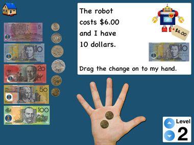 Giving change (Australian Dollars)