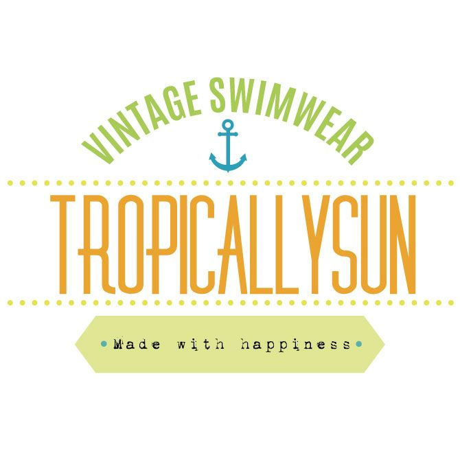 TropicallySun | Vintage Swimwear - Made with happiness - www.woomint.com