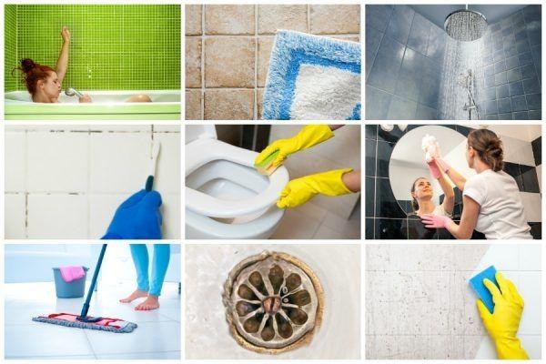 Bad Putzen Wie Sie Ihr Bad Richtig Putzen Badreinigung Tipps Badezimmer Reinigen Richtig Putzen Badezimmer Putzen