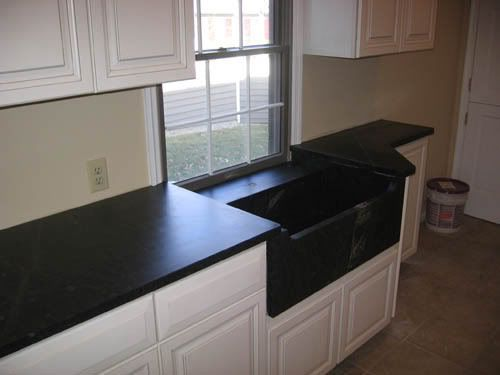 Ideas for odd shaped kitchen with awkward low window for Odd shaped kitchen sinks