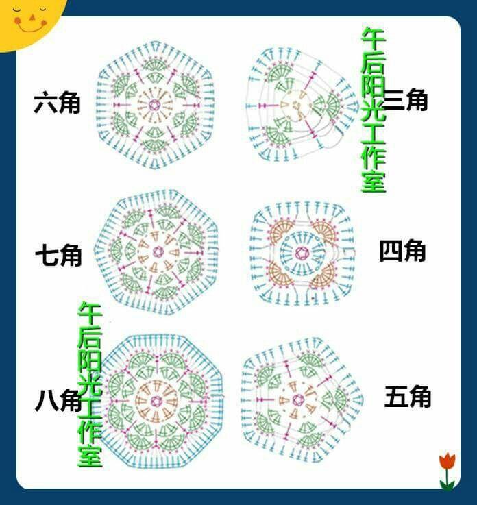 33 best Amigurumi Hexagon crochet images on Pinterest | Hexagon ...