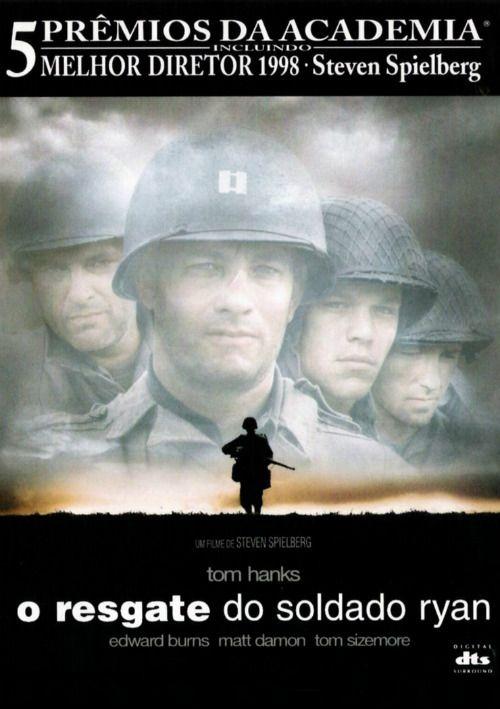 Um filme de Steven Spielberg com Tom Hanks, Tom Sizemore : Ao desembarcar na Normandia, no dia 6 de junho de 1944, capitão Miller (Tom Hanks) recebe a missão de comandar um grupo do segundo batalhão para o resgate do soldado James Ryan, caçula de quatro irmãos, dentre os quais três morreram em combate. Por o...