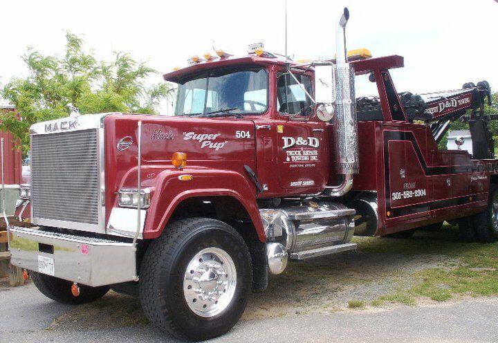 D & D Towing >> D D Truck Repair Towing Hagerstown Md Mack Superliner W