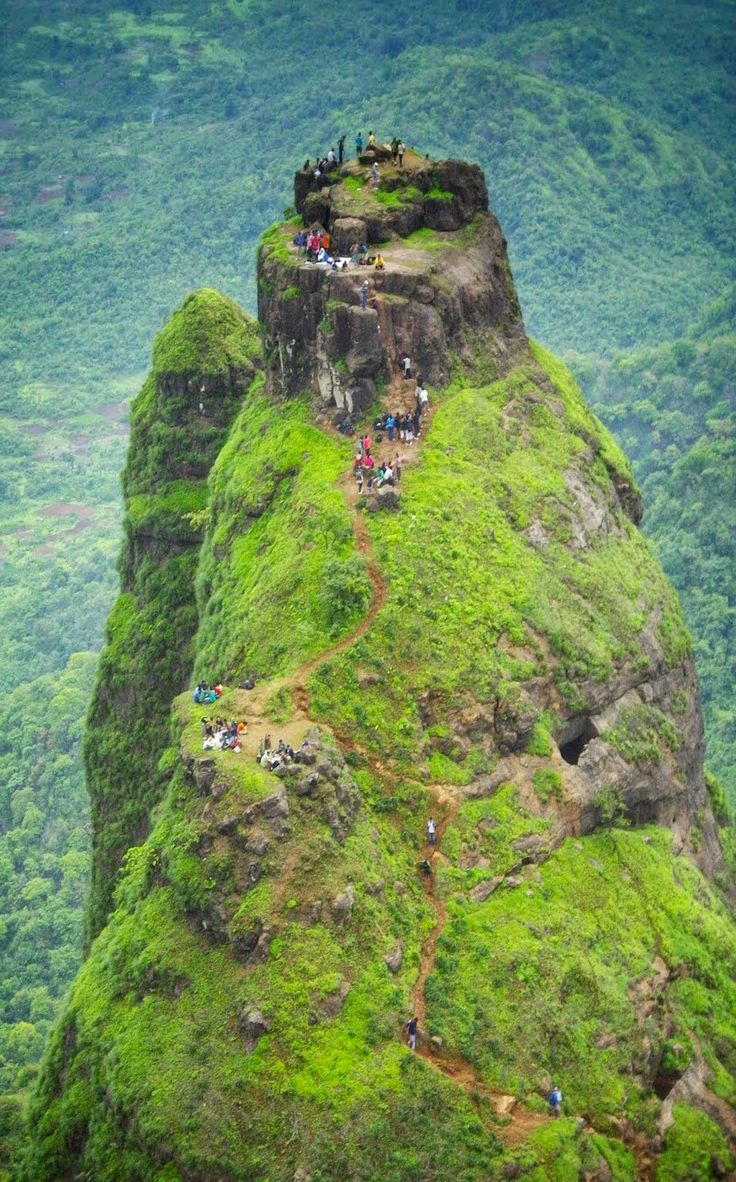 Fort Prabalgad in India The fort is accessed through a creepy climb !! Prabalgad Fort, also known as Kalavantin Durg (Kalavantin Fort), is located between Matheran and Panvel in the Indian state of Maharashtra, at a height ...