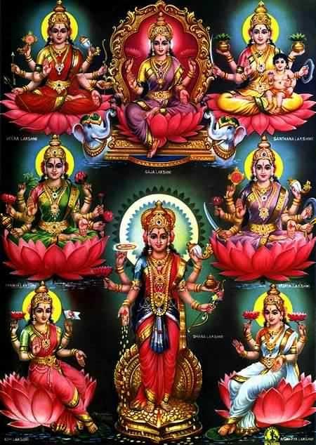 Lord Vishnu and Goddess Lakshmi | God Vishnu, Mata Lakshmi Photos