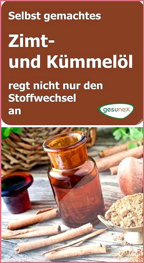 DIY Zimt- und K mmel l regt nicht nur den Stoffwechsel an..
