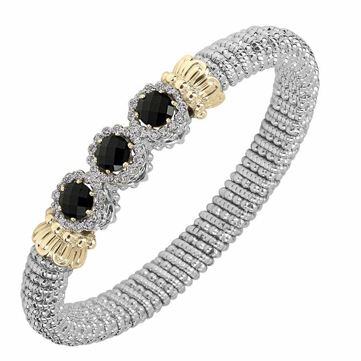 Here is another enchanting color gem stone bracelet - Parris Jewelers #finejewelry