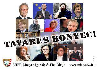 Deli Károly MIÉP Országos Alelnök blog oldala: EZEKTŐL KELL MEGSZABADÍTANUNK EURÓPÁT!
