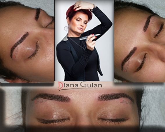 Master Class - Hairstroke  Bucharest, Romania catalin@cursurimicropigmentare.ro 0040 733 696496 Senior Permanent Make-Up Trainer Diana Gulan