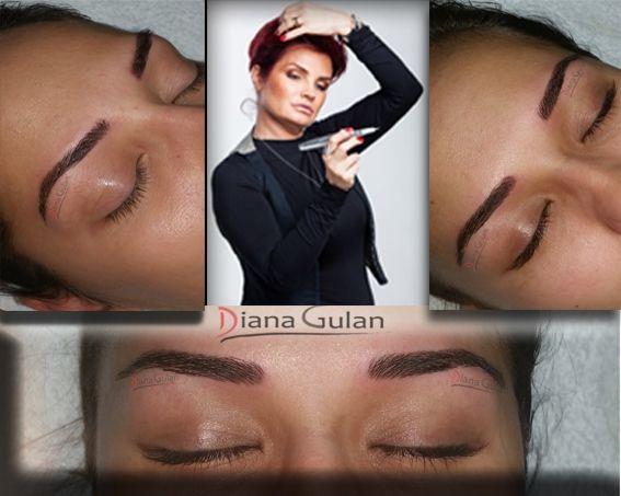 Master Class - Hairstroke  Bucharest, Romania catalin@cursurimicropigmentare.ro 0040 733 696496 Senior Permanent Make-Up Trainer Diana Gulan