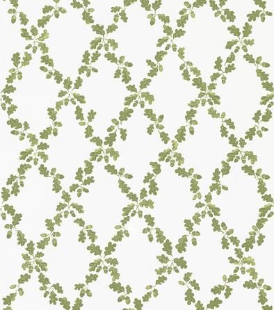 Reflecting Sandberg's love of the oak tree led to the creation of this beautiful trellis its oak leaves and acorns. The pattern looks both traditional and modern, and will be great in a living room or bedroom.