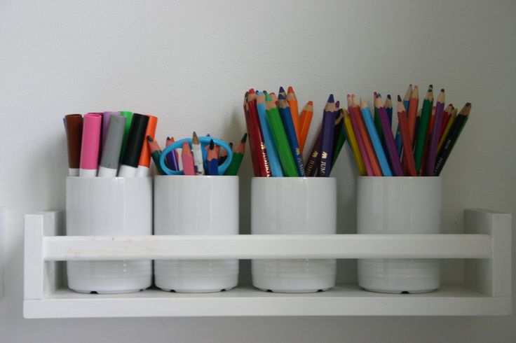 Ikea shelf for desk storage